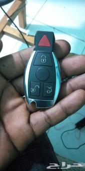برمجة مفتاح مرسيدس خلال نص ساعه بدون فتح قطع