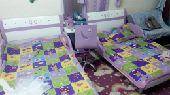 غرفة نوم اطفال ثلاث اسرة