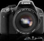 كاميرا كانون 550D