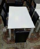طاولة 6 كراسي ماليزية مع توصيل وتركيب