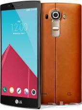 جهاز LG G4 جلد بني 32GB أخو الجديد للبيع