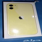 ايفون iphone 11 جديد بالغلاف 2850 ريال