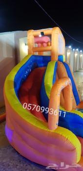 زحليقة مائية للمتعة والمرح للأطفال