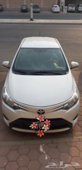 سيارة يارس 2016 للبيع