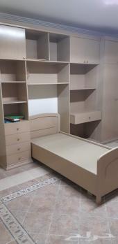 الخرج غرف نوم مفرد للبيع