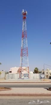 للإيجار ارض مناسبة برج جوال اتصالات