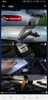 تفعيل خصائص تعديلات VW
