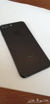 ايفون 7 بلس 128 جيجا اسود مطفي للبيع نظيف