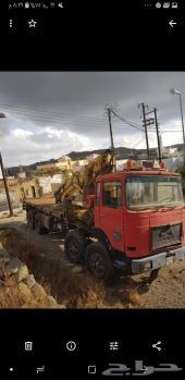شاحنة  ونش   حموله 20 طن  للبيع  موديل 83