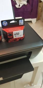 طابعة HP Deskjet 3515 مستعمله نظيفه للبيع