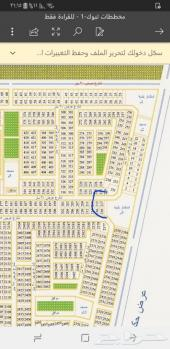 أرض حي التعاون شارع20 وممر شرقي