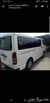 باص تويوتا هايس 14 راكب للبيع