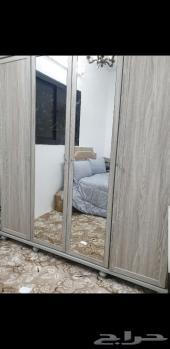 غرفة نوم نفر ونص جديده للبيع