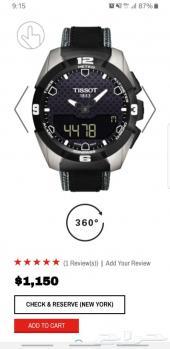 للبيع ساعة Tissot t touch solar