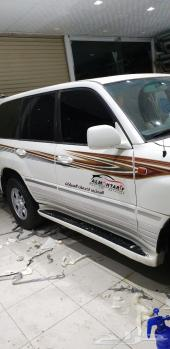 خطوط لاندكروزر 2007 الخليجي مع الفك والتركيب