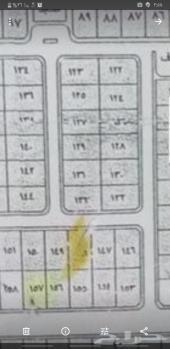 ارض مخطط 4 منح ابو عريش رقم الارض 131
