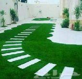 تنسيق حديقه واسطح المنزل