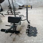اجهزة رياضية واوزان للبيع