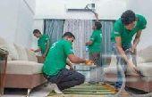 غسيل كنب تنظيف شقق خزانات رش مبيدات بالمدينة