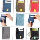 محفظة رجالية تحمل 5 بطاقات بسعر 45ريال