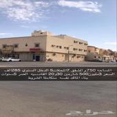 عمارة شقق للبيع حي القادسية 750 م