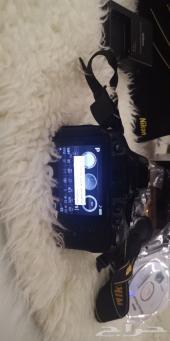 كاميرا نيكون شبه جديده للبيع