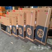 شاشات TCL بمقاسات مختلفة و كمية محدودة