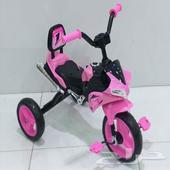 دراجة أطفال على شكل دباب مع أصوات و إضاءة