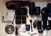 للبيع Canon 60D Digital SLR Camera مع 2 عدسة وجميع الاكسسوارات