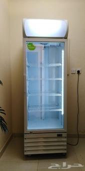 ثلاجة عرض بانكول زجاجي باب واحد للبيع