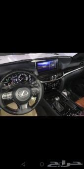 جيب لكزس LX570 سعودي 2019م بلاك ادشن لولي