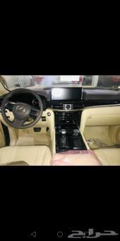 جيب لكزس 2018 LX570 AD سعودي بطاقة جمركية