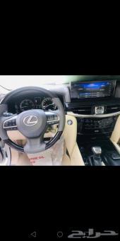 جيب لكزس ديزل 2019 سعودي LX450d (جارالله)