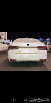 لكزس LS 500 HH هايبرد سعودي 2018 أبيض أبيض