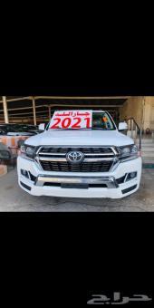جيب لاندكروزر GXR2 ديزل 2021 سعودي أبيض