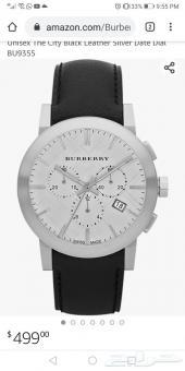 ساعة سويسرية فخمة بربري BURBERRY