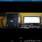 كمبيوتر مكتبي دل واتش بي مستعمل ب350