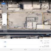 حوش ارض تجارية للبيع او الايجار 3 شوارع كهربا