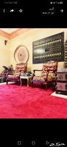 مجلس ارضي  2 كرسي كلاسيك تراثي  يصلح