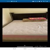 سرير 150  200 مع المرتبة