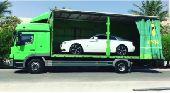 سطحات دبي للنقل سيارات إلى سعودية والعكس