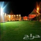 استراحه و مزرعه و مخيم في المزاحميه للايجار