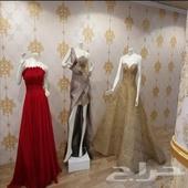 خياطة فساتين السهرة والزفاف
