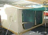 خيمة جديده متنقله للبيع