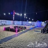 مخيم روابي للايجار اليومي طريق المطار