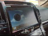 شاشة لاندكروزر مستعمل أندرويد ودعامه بريمي