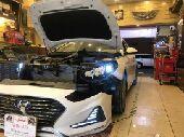 تركيب عدسات سوناتا مديل 2018 هيلا G5