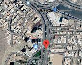 أرض تجارية ركنية على شارع العزيزية العام 4197