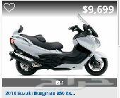 فرصة  دباب سوزوكي nBurgman  nموديل 2012 للبيع
