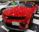 كمارو 2011 أحمر نظيف جدا  ماشي 104 وكسور